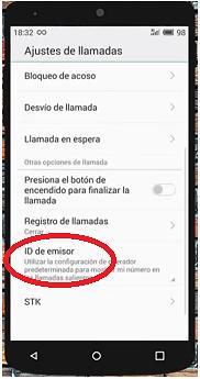 03 Ocultar ID de llamada en Android