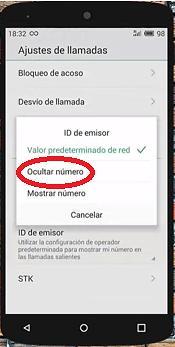 04 Ocultar ID de llamada en Android