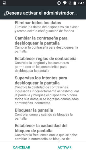 historial de ubicaciones where is my droid