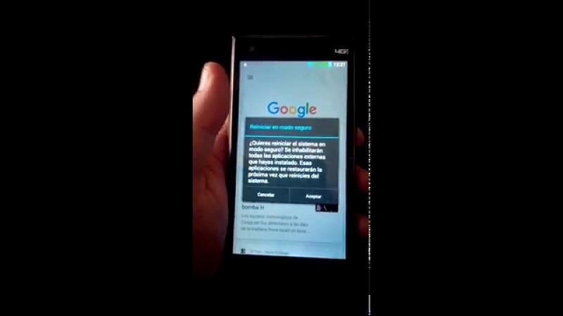 El modo seguro despbloquear tu android smartlock