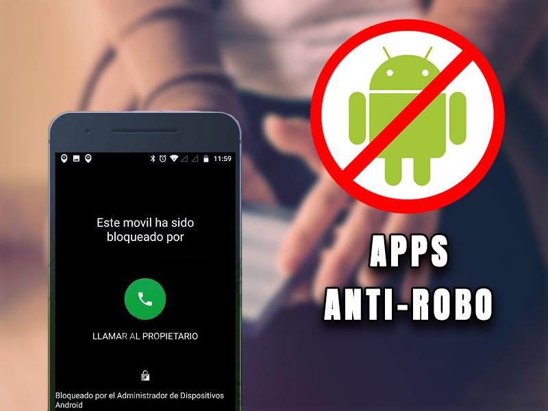móvil robado smartphone android