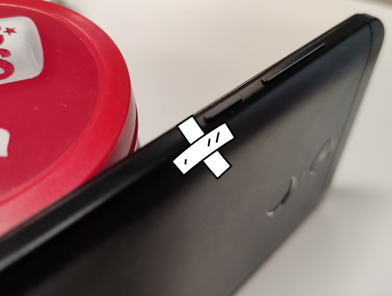usar movil con boton de encendido roto